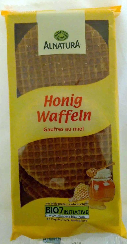Honig Waffeln - Produkt