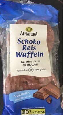 Schoko reis waffeln - Produkt - de