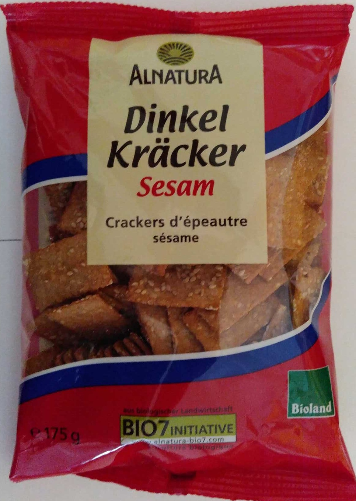 Dinkel Kräcker Sesam - Product