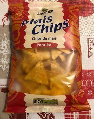Chips de maïs paprika - Produit - de