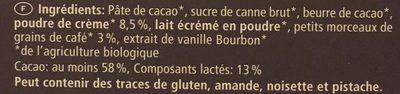 Sélection Espresso - Ingredients - fr
