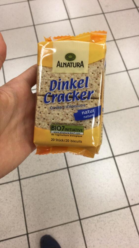 Crackers d'épeautre nature - Product