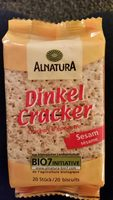 Dinkel Cracker - Product - de