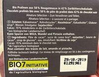 Truffes Chocolat Noir - Ingrédients - fr