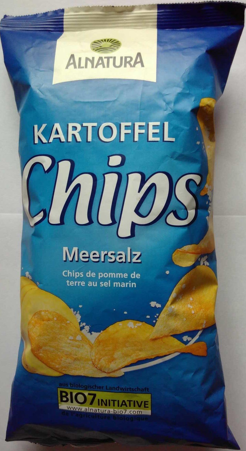 Kartoffelchips Meersalz - Product - de
