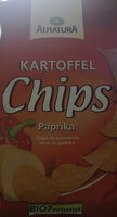 Bio Kartoffelchips Paprika - Produkt - de
