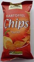 Bio Kartoffelchips Paprika - Produkt