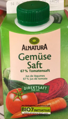 Gemüsesaft - Produkt