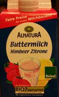 Alnatura Bio Buttermilch mit Fruchtzubereitung, 0,6% Fett im Milchanteil - Product