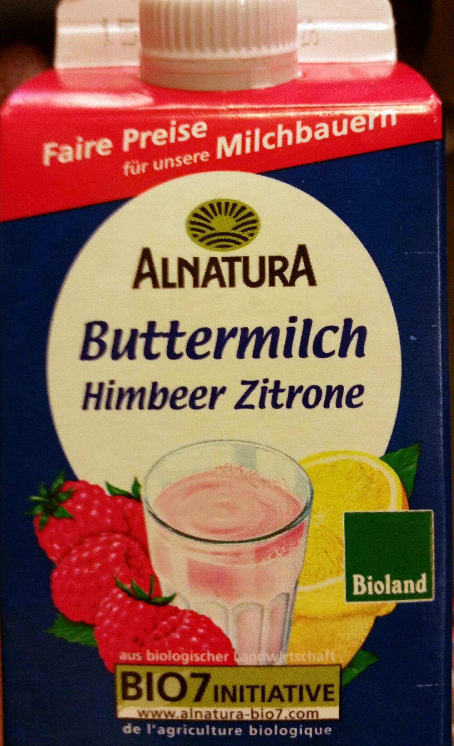 Alnatura Bio Buttermilch mit Fruchtzubereitung, 0,6% Fett im Milchanteil - Product - de