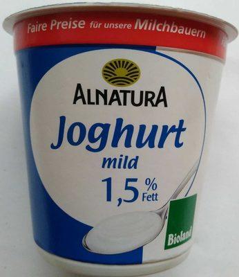 Joghurt mild 1,5% Fett - Product