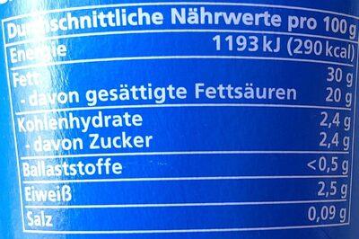 Creme Fraiche - Nährwertangaben - de