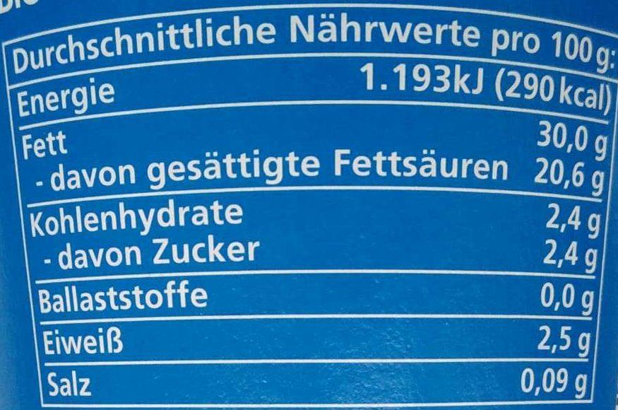 Crème Fraîche - Voedingswaarden - de
