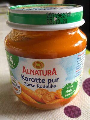 Purée de carottes - Produit - fr