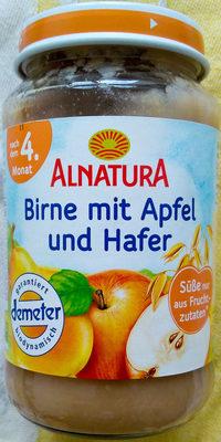 Birne mit Apfel und Hafer - Produkt