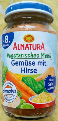Gemüse mit Hirse - Produkt