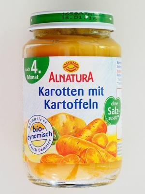 Karotten mit Kartoffeln - Product