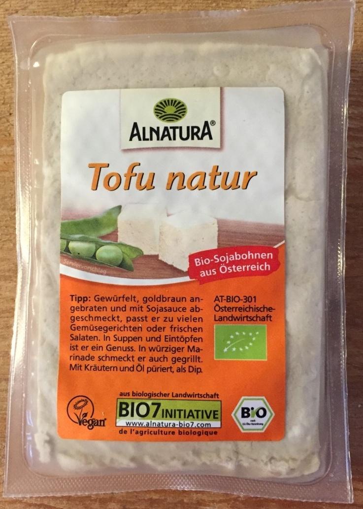 Tofu natur - Produkt - de