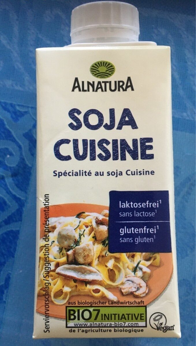 Soja Cuisine - Informations nutritionnelles - fr