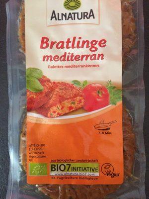 Bratlinge mediterran - Produit - fr