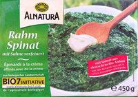 Rahm Spinat mit Sahne verfeinert - Produkt
