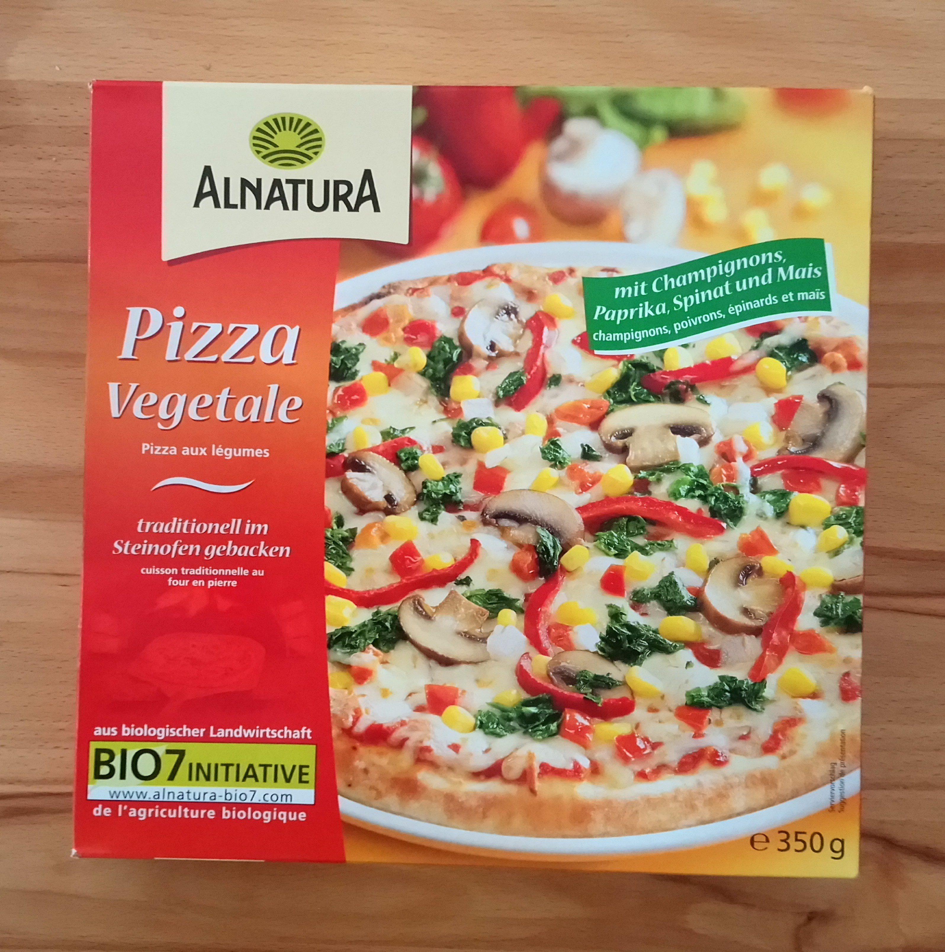 Pizza végétale - Produkt - de