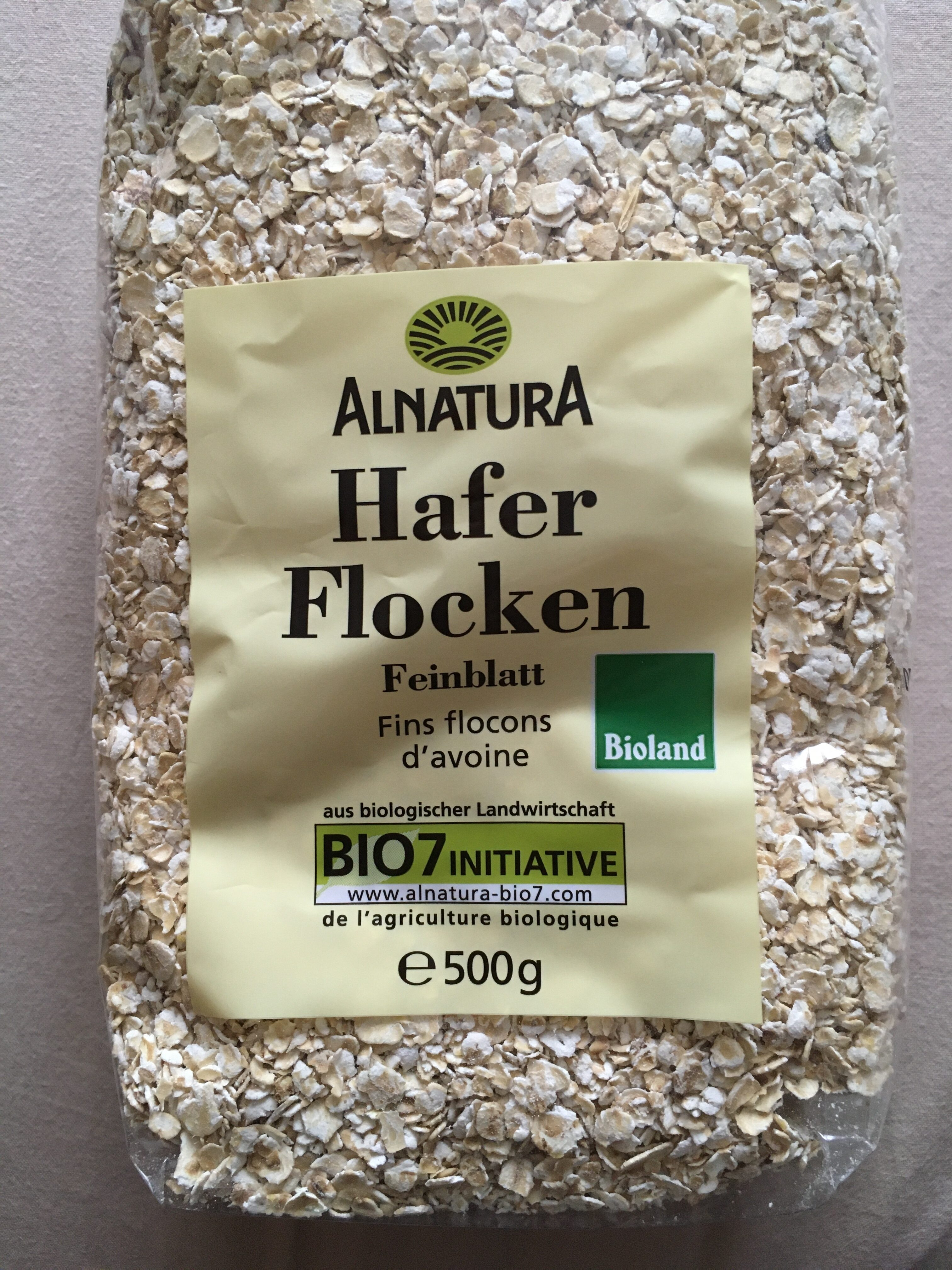 Haferflocken - Feinblatt - Product - de
