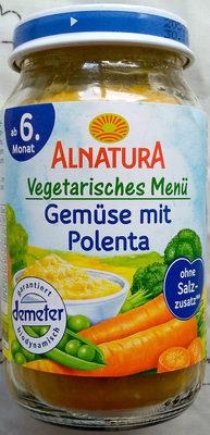 Gemüse mit Polenta - Produkt