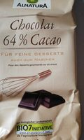 Chocolat 64% Cacao - Product