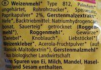 Knabber Drachen Paprika - Ingredienti - de