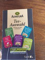 Séléction de thés et infusions - Product