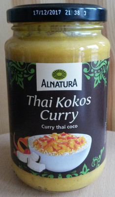 Thai Kokos Curry - Produit