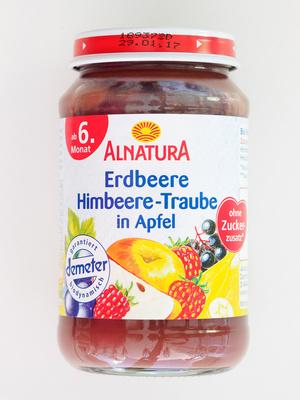 Erdbeere Himbeere-Traube in Apfel - Product