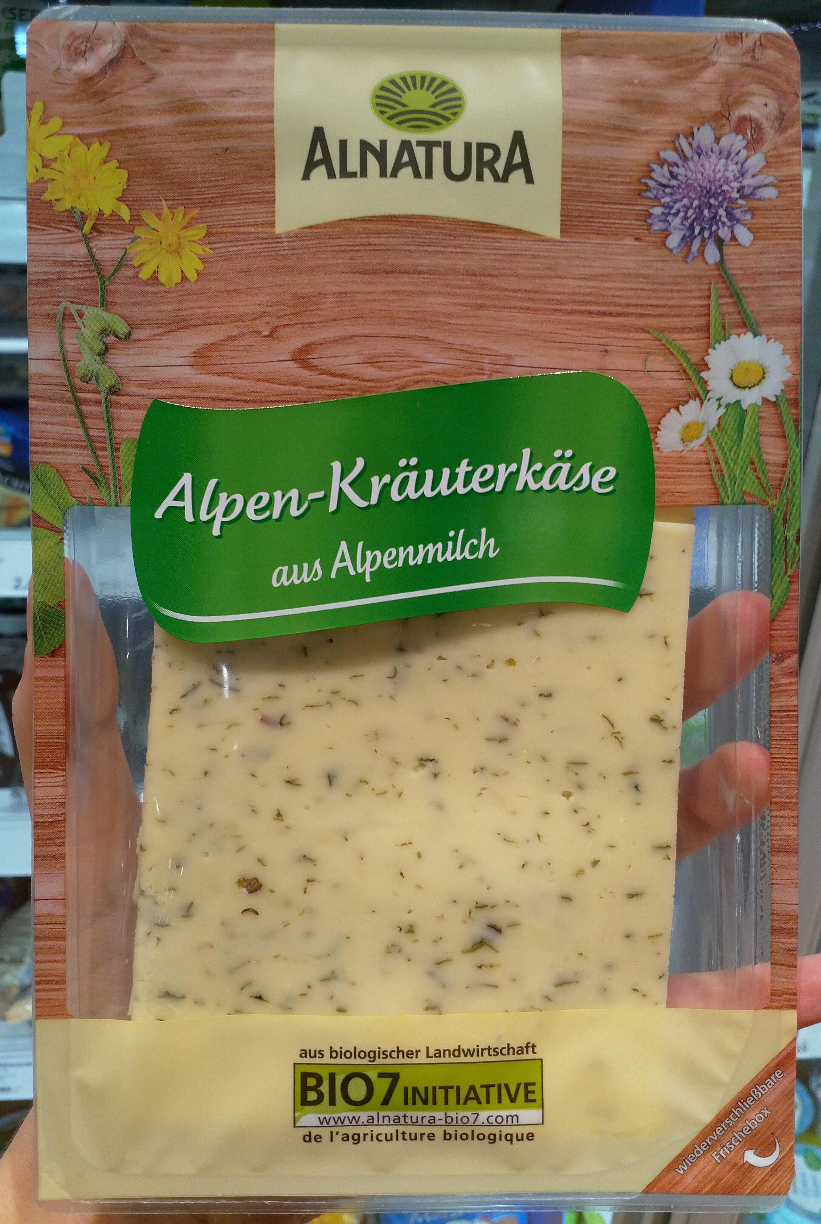 Alpen-Kräuterkäse aus Alpenmilch - Product - de