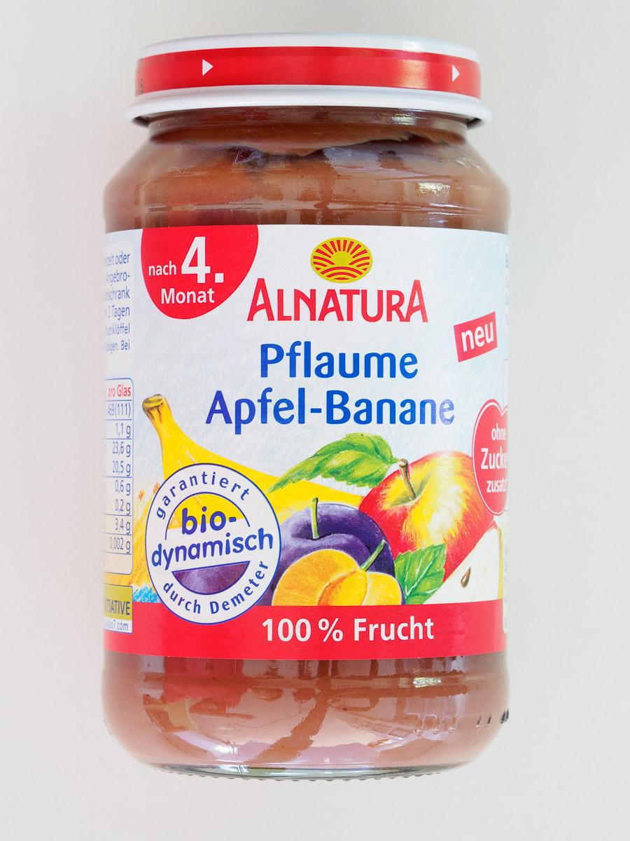 Pflaume Apfel-Banane - Produit - de