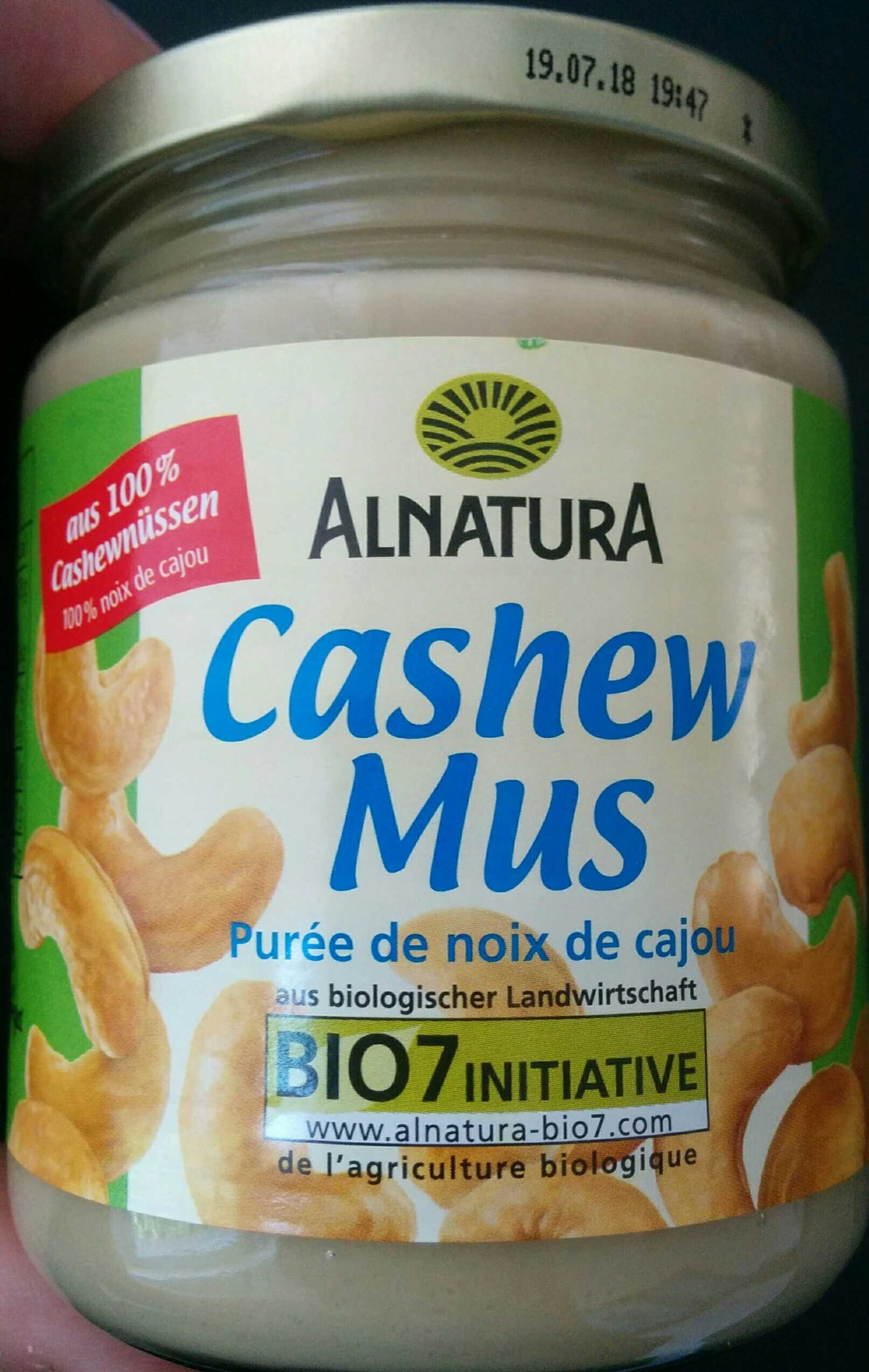 Cashew Mus - Produit