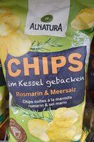Chips romarin & sel de mer - Prodotto - de