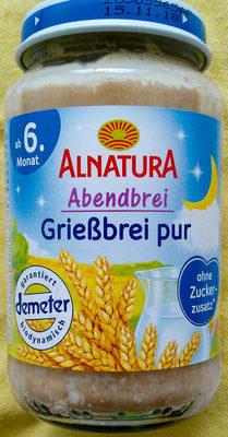 Grießbrei pur - Produkt