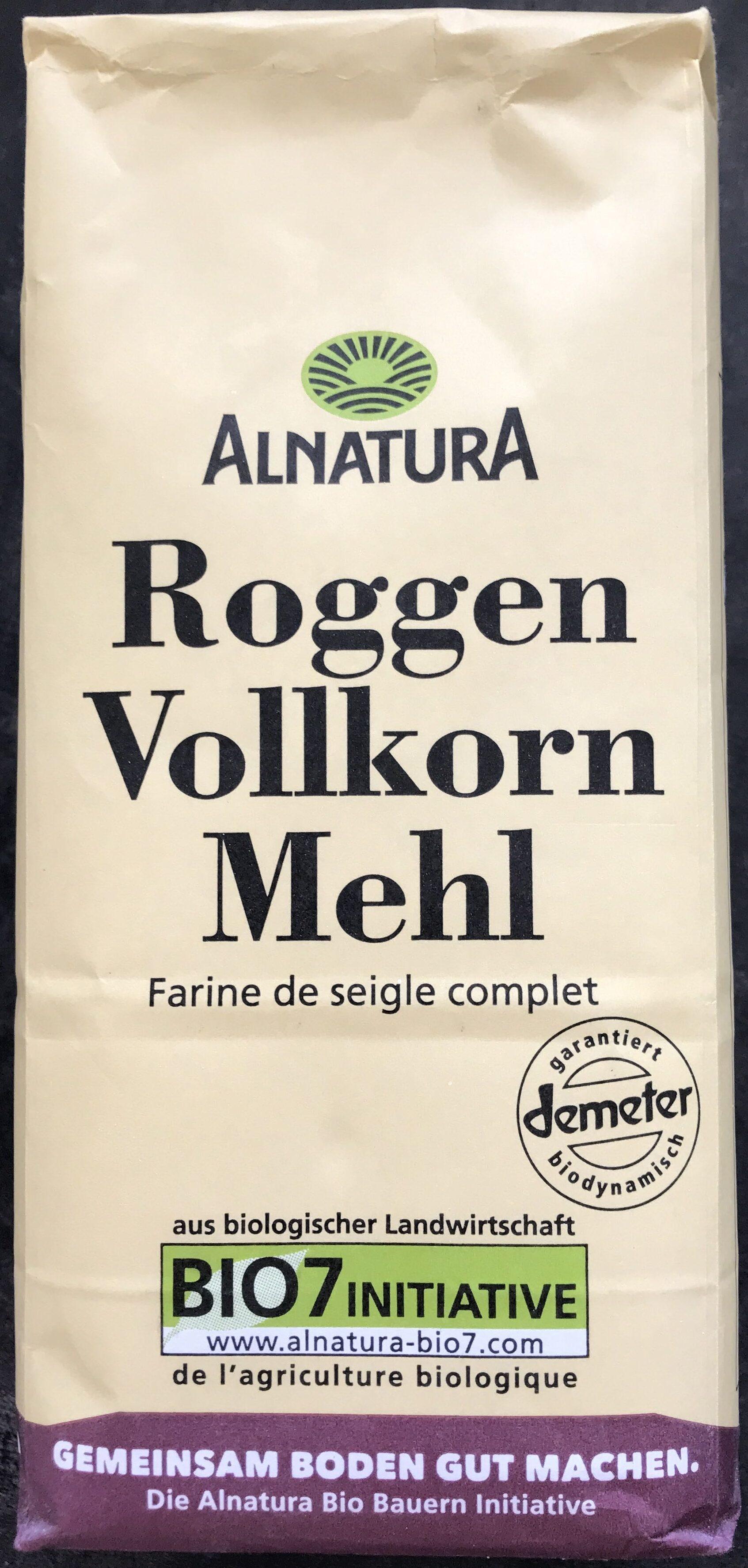 Roggen Vollkorn Mehl - Product