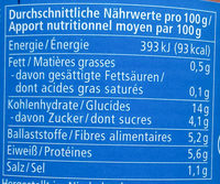 Alnatura Baked Beans - Informations nutritionnelles