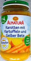 Karotten mit Kartoffeln und Gelber Bete - Produkt