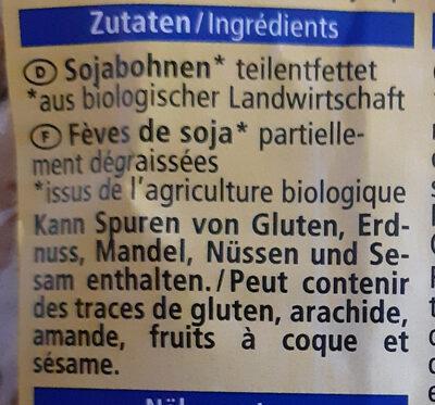 Soja Schnetzel Grob - Ingrédients - fr