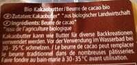 Cacaobutter - Ingredienti - de