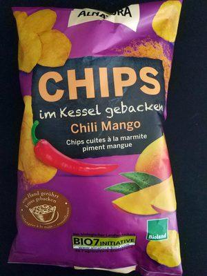 Chips im Kessel gebacken Chili Mango - Product - de