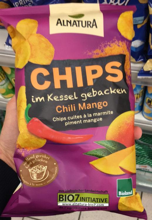 Chips cuites à la marmite Piment Mangue - Produit