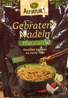Gebratene Nudeln Thai Curry - Product