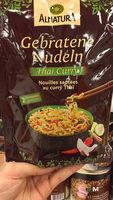 Gebratene Nudeln Thai Curry - Produit - fr