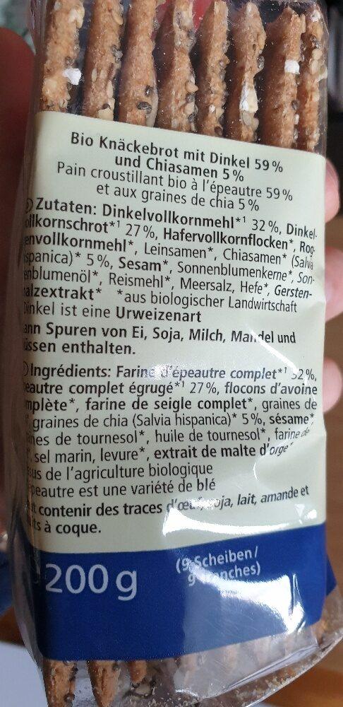 China Knäcke - Ingrediënten - de