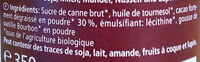 Zartbitter Creme - Ingrédients - fr
