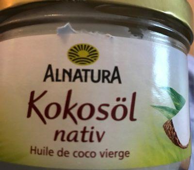 Alnatura Kokosöl - Product - fr